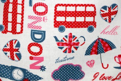 Smock pocket - Pink London