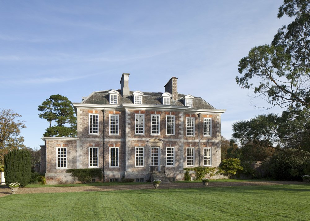 Queen Anne Grade 1 listed country house, Puslinch, Devon. MG Interior Design, North London
