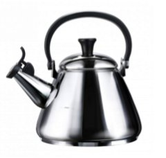 Stainless steel Kone kettle designing a kitchen MG Interior Design